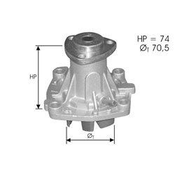 Waterpomp 155 2.5TD 3/96