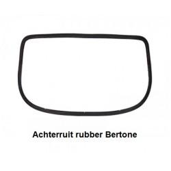 Achterruit rubber Bertone