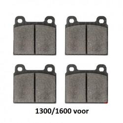 Remblokset 1300/1600 voor OEM kwaliteit