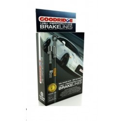 Goodridge RVS remslangset Alfetta/GTV/75 (73-81)