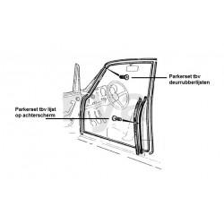 Parkerset tbv deurrubberlijsten Bertone (52stuks)