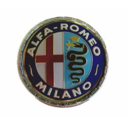 Embleem Alfa rond 55mm Milano