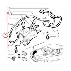 Ruitensproeiertank Alfa 156 sedan compleet