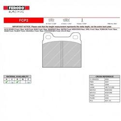 Ferodo DS 2500 remblokset voor