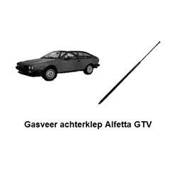 Gasveer achterklep Alfetta GTV