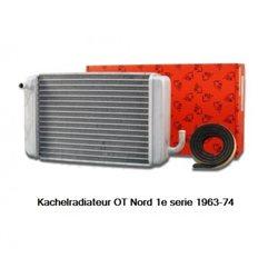 Kachelradiateur OT Nord 1e serie 1963-74