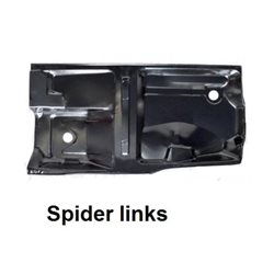 Bodemplaat Spider 1970-93 links