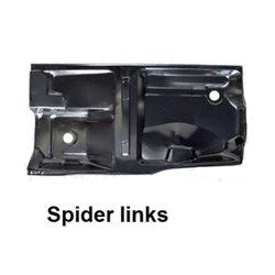Bodemplaat Spider 1970-93 links