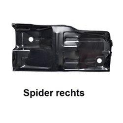 Bodemplaat Spider 1970-93 rechts