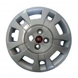Wieldop Fiat Idea 15 inch rood logo
