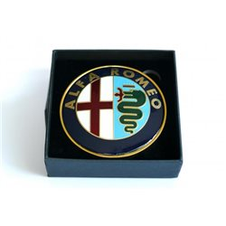 Alfa logo rond voor