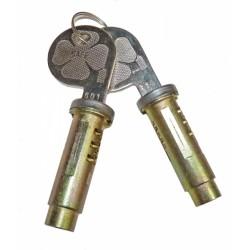 Deurgreep cilinderslotset Spider 1970-93