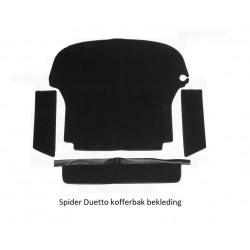 Kofferbak Bekledingset Spider Duetto