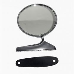 Buitenspiegel rond chroom