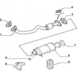 Voorpijp Alfa 147/156/GT 1.9 JTD