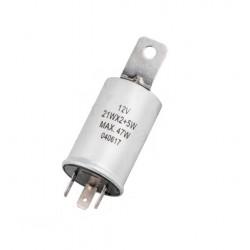 Knipperlicht relais 3-poot rond