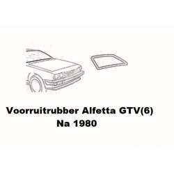 Voorruit rubber Alfetta GTV(4/6) na 1980