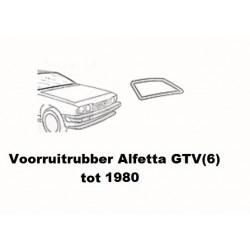 Voorruit rubber Alfetta GTV(4/6) tot 1980