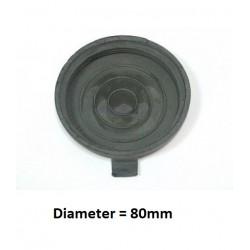 Dop koplamp MiTo 80mm diameter