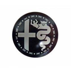 Embleem Alu velg OT Nord 48mm Zwart/grijs