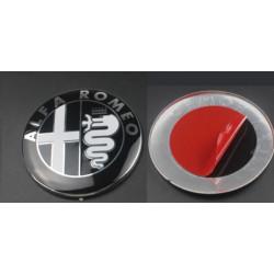 Alfa Logo overzet/plak 74mm