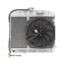 Radiateur Bertone 2e serie ALU + Elektr.fan