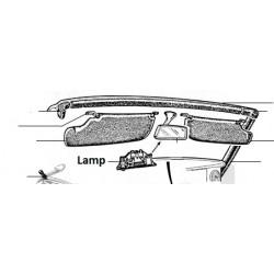 Lampje binnenspiegel Spider 1966-85